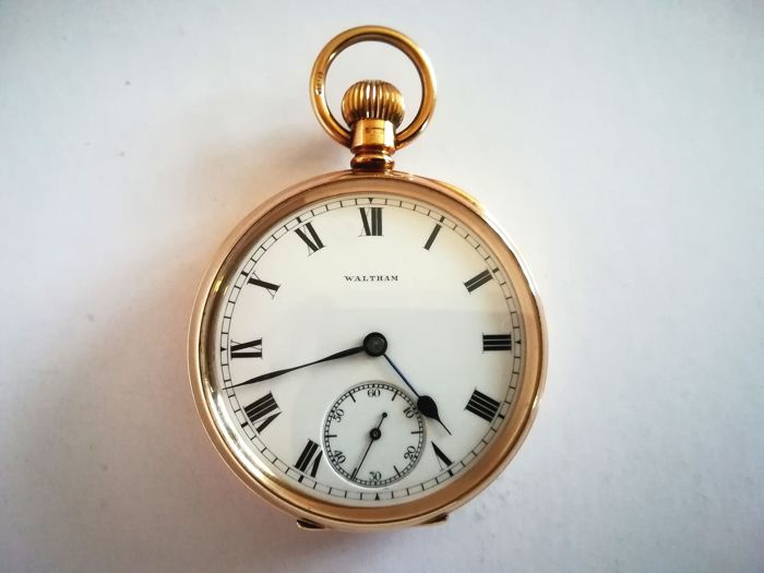 Waltham - 1899 - pocket watch  - Heren - 1901-1949