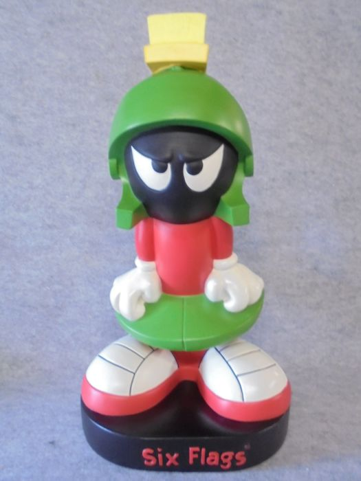Marvin the Martian, large statue (50cm height) - Loony Tunes - Warner Bros/Six Flags.