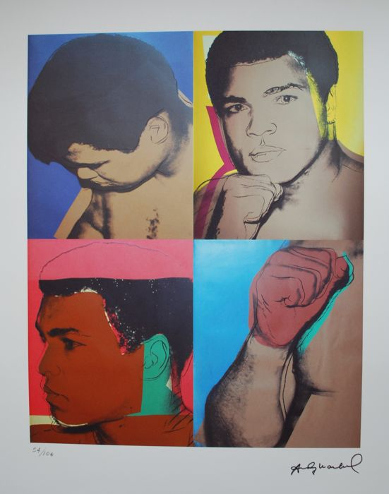 Muhammad Ali - 1908 - Artwork