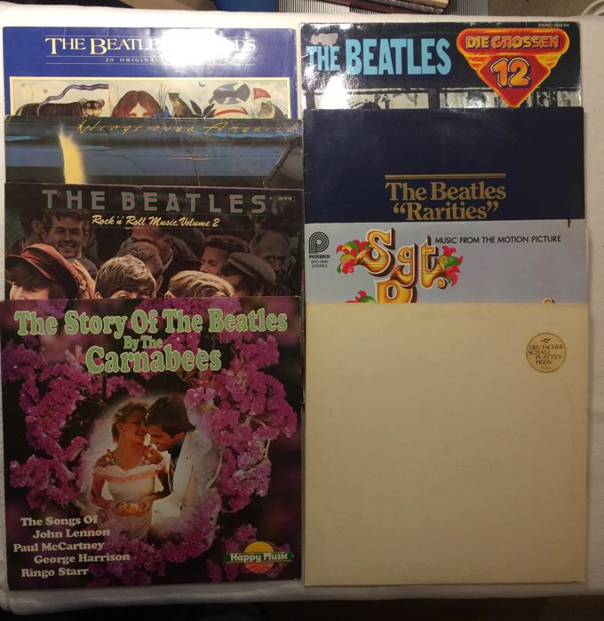 The Beatles : 8 xLP  Albums  including Double album