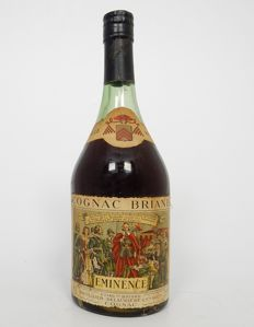 "Cognac Briand ""Eminence"" vieille réserve - bottle from 1950s - 1960s"