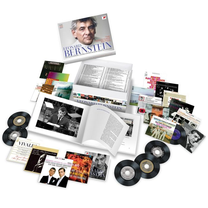 Leonard Bernstein - The remastered edition - 100 cd - sealed - Caixa de CDs - 2017