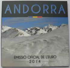 Andorra - year pack/ year collection 2014 in original folder
