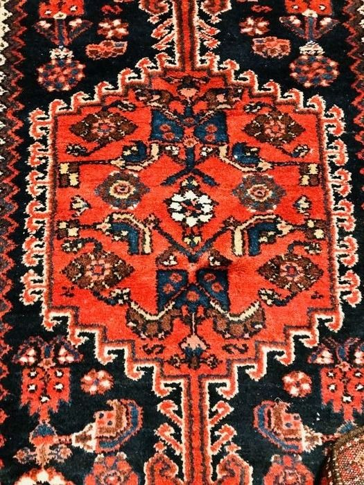 Antique Persian Hamadan Rug, 200 x 135 cm