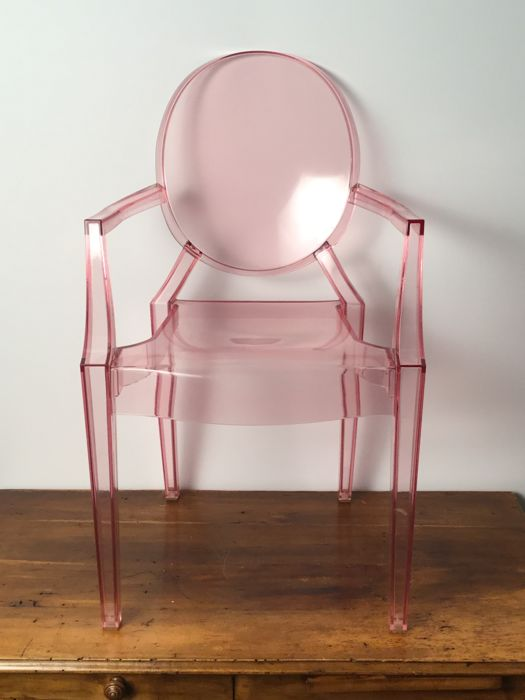 "Philippe Starck for Kartell – ""Lou Lou Ghost"" children's chair"