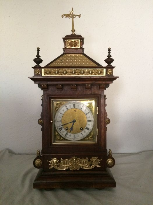 LENZKIRCH large table clock - 1886 - Germany.