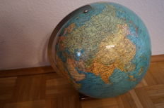 Large antique Columbus globe, approx. 1950