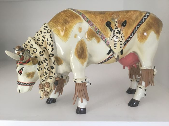 CowParade - Mooti - Large - Resin - retired in the box