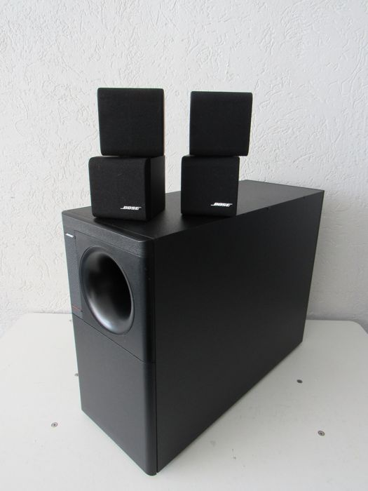 neat bose acoustimass 5 series ii redline catawiki. Black Bedroom Furniture Sets. Home Design Ideas