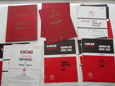 LUCAS England - Original parts books English motorcycles - 1960s