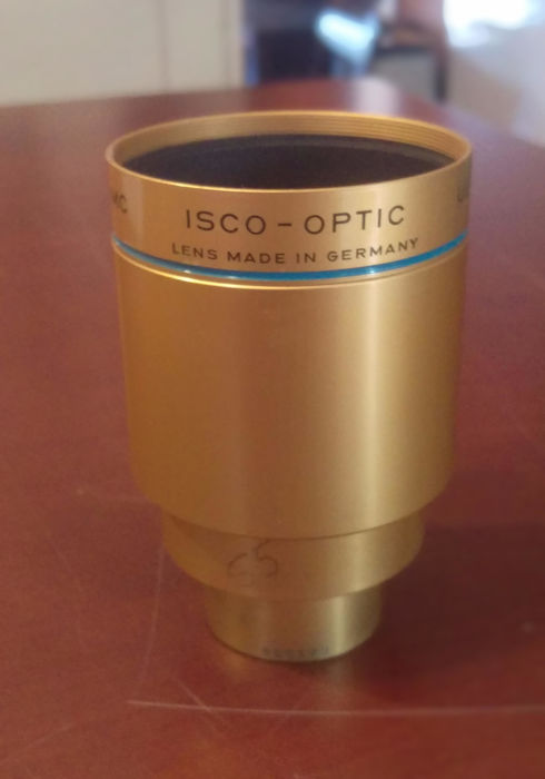 Isco-Optic 2.17 in / 55 mm lens