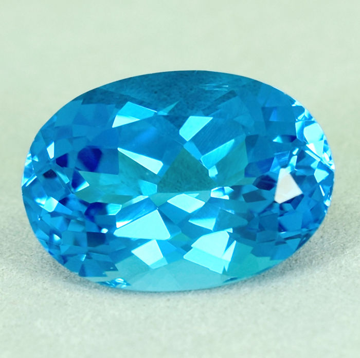 Swiss Blue Topaz – 15.08 ct