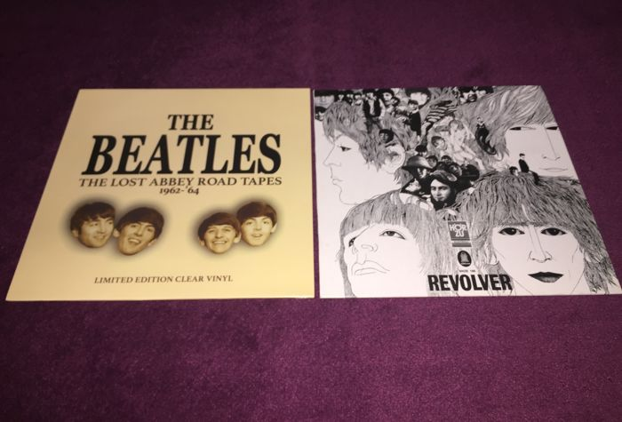 The Beatles - Lot of 2 great lp`s; The Lost Abbey Road Tapes+Revolver (Unofficial Odeon Pressing)