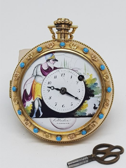 Colladon A. Geneve - Pocket Watch - Homme - '800