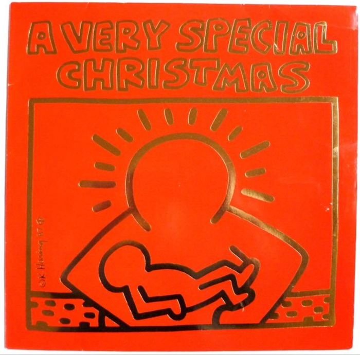 keith haring after a very special christmas - A Very Special Christmas