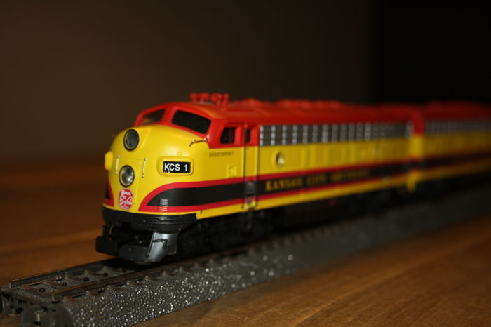 Märklin H0 - 37628 - Diesel locomotive - F-7 - Kansas City Southern