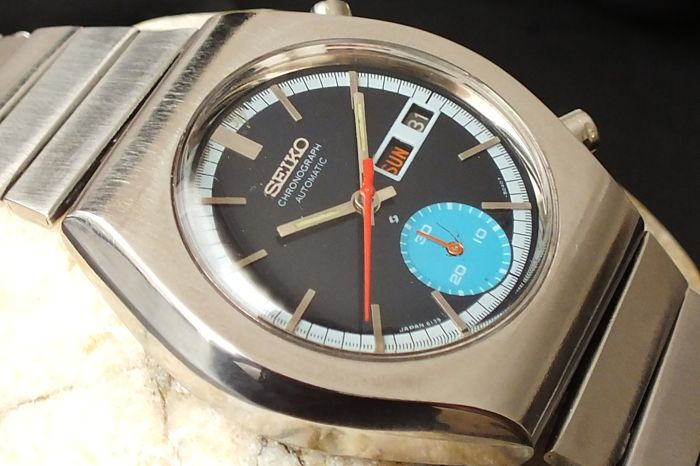 Seiko - Vintage Sport Chronograph Watch - 4N1511 - Men - 1970-1979