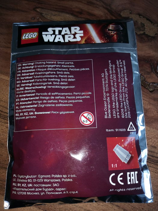 Unique Collection Of 10 Lego Star Wars Foil Bags Catawiki