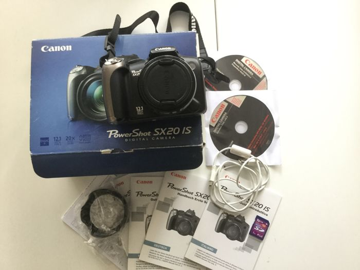 canon powershot sx20 is digital camera sd card for free catawiki rh auction catawiki com Canon Sx 20 Canon PowerShot SX30 Lens Attachments
