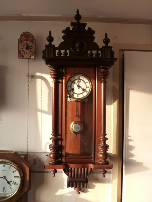 Regulator - mahogany – early last century