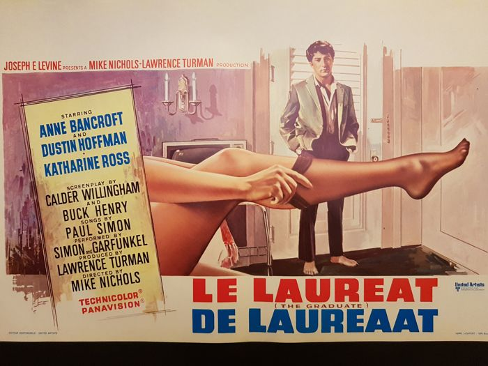 Le Laureat (The Graduate, Dustin Hoffman) - 1967