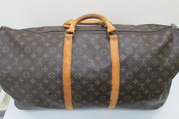 Louis Vuitton - Monogram Keepall 60 Utazótáska - Vintage - Catawiki d6634d60a6