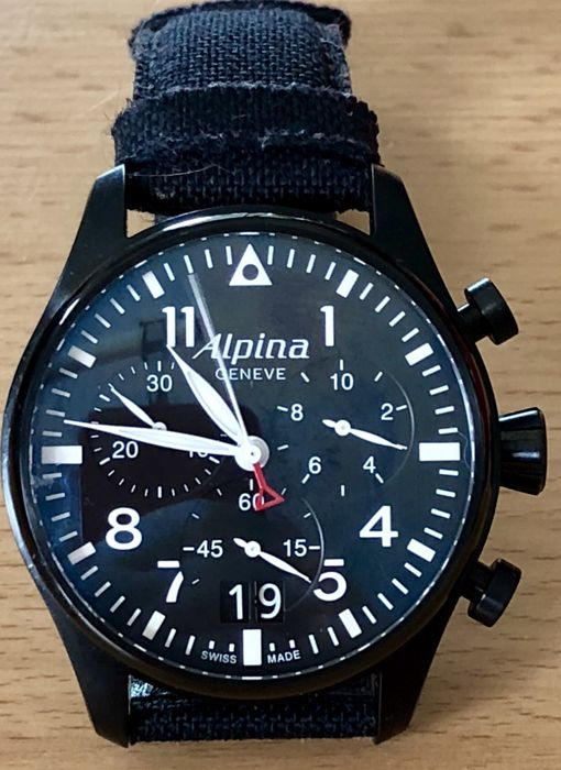 Alpina - Pilot Chronograph Big Date - Heren - 2011-heden