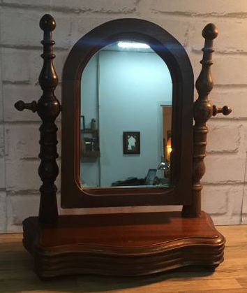Dressing table mirror, early 20th century