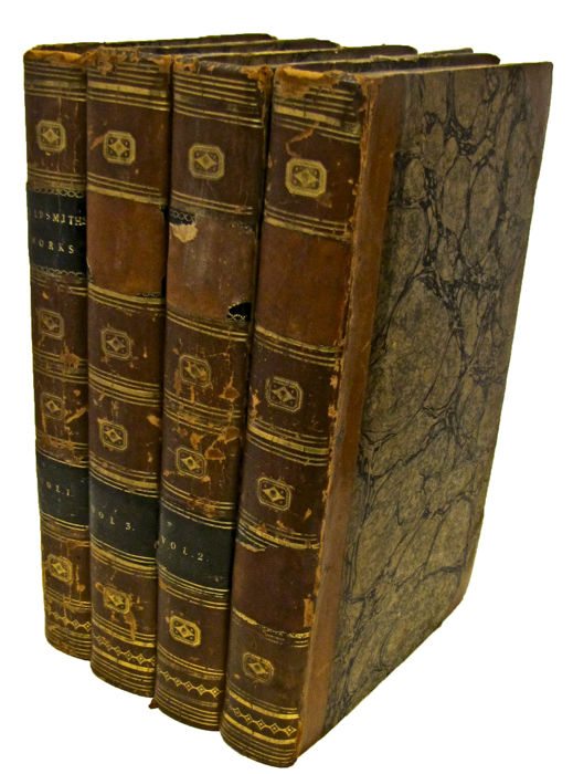 Oliver Goldsmith - The Miscellaneous Works of Oliver Goldsmith, M.B - 1801