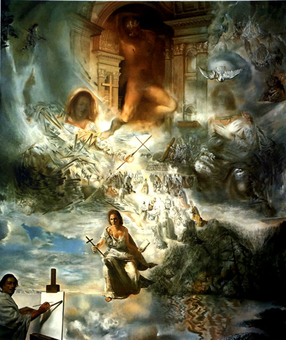 Salvador Dalí (after) - The Ecumenical  Council