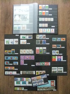 Brunei - Collection on stock sheets and stock cards