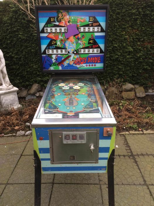 Williams 'Dipsy Doodle' pinball from 1970