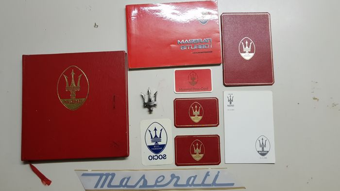 Maserati - lot of Maserati member - 10 pieces