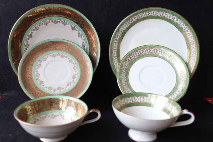 Tea set pair - Bavaria  porcelain - Germany