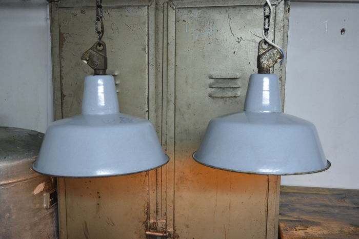 OBs-2 - enamelled lamps (2x)