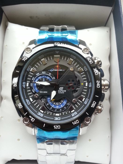 casio edifice ef 550rbsp red bull racing limited edition. Black Bedroom Furniture Sets. Home Design Ideas