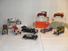 Rio - scale 1:43 - Lot of 12 models: Mercedes, Fiat & Renault