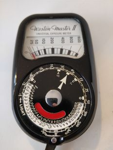 Weston master II (2) light meter