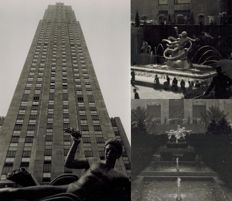 Hanns Tschira (1899-1957) / Adolf Jacques - Fountain at Rockefeller Center NY, 1930s