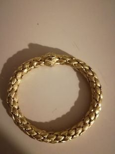 Chimento - Women's 18 kt gold bracelet with concealed clasp