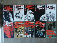 Frank Miller Sin City set with complete series A Dame To Kill For, The Big Fat Kill, That Yellow Bastard & Hell and Back plus 5 One-Shots & 300 complete series- 36x (1993-1998)
