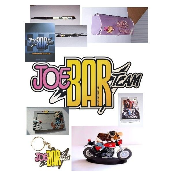 Lot of 7 items by the Joe Bar team - c.1990