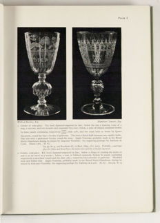 W.A. Thorpe, A History of English and Irish Glass. Complete in two volumes