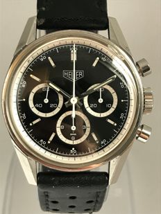Heuer - Carrera Re-Edition Chronograaf - CS 3113 - Heren - 1990-1999