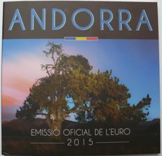 Andorra - year pack/ year collection 2015 in original folder