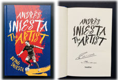Andres Iniesta - FC Barcelona Signed Limited Edition Book - Worldwide Limited Edition 178 / 1.000