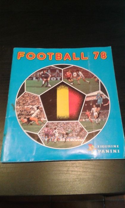 Panini - Football 78 Belgian Pro League - complete album