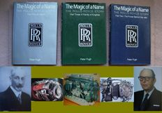 Peter Pugh - The Magic of a Name: The Rolls-Royce Story - 3 volumes - 2000