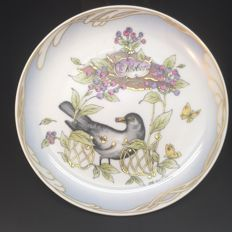 "Ole Winther for Hutschenreuther - porcelain month plate ""October"""