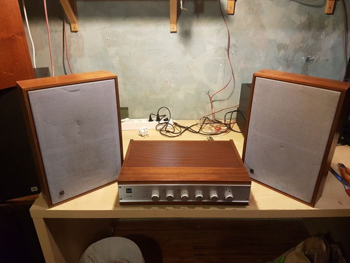 Dual CV 20 amplifier + Dual CL 120 speakers
